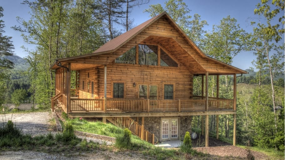 How much does a log cabin cost angie 39 s list for House plans that cost 150 000 to build