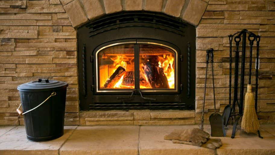 how to convert a gas fireplace to wood burning angie 39 s list. Black Bedroom Furniture Sets. Home Design Ideas
