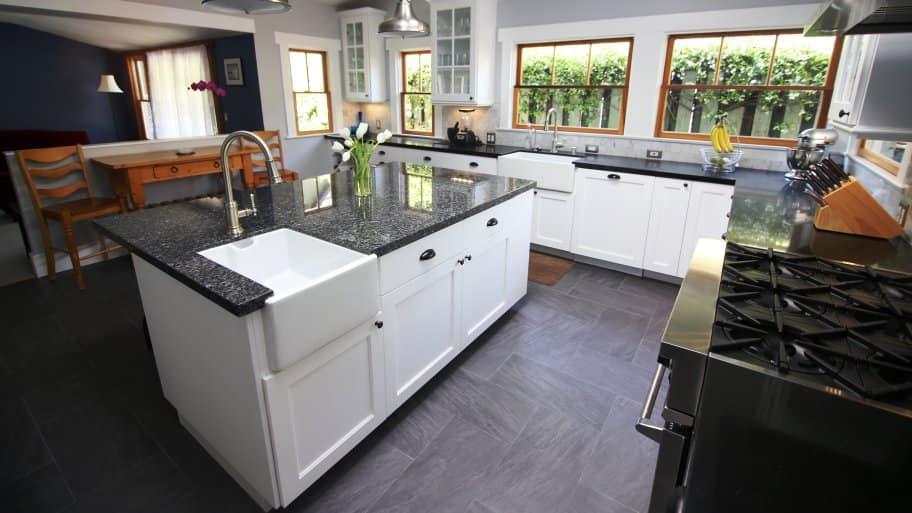 floating kitchen island