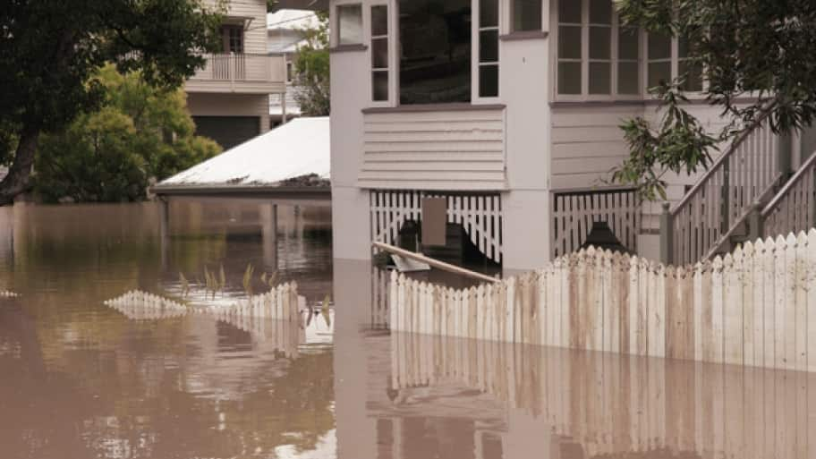 Do you have flood insurance? How about additional coverage for sewer backups? If you don't know the answers, review the details of your home's insurance policy. (Photo courtesy of Woodard's Cleaning & Restoration Services)
