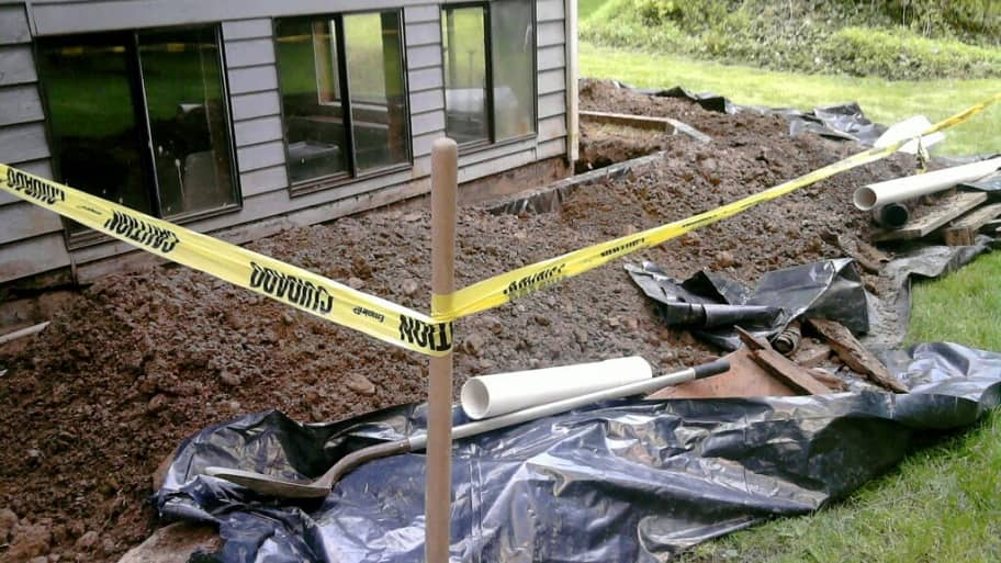 Replacing a Foundation Footing Drain Requires Experience Angies List