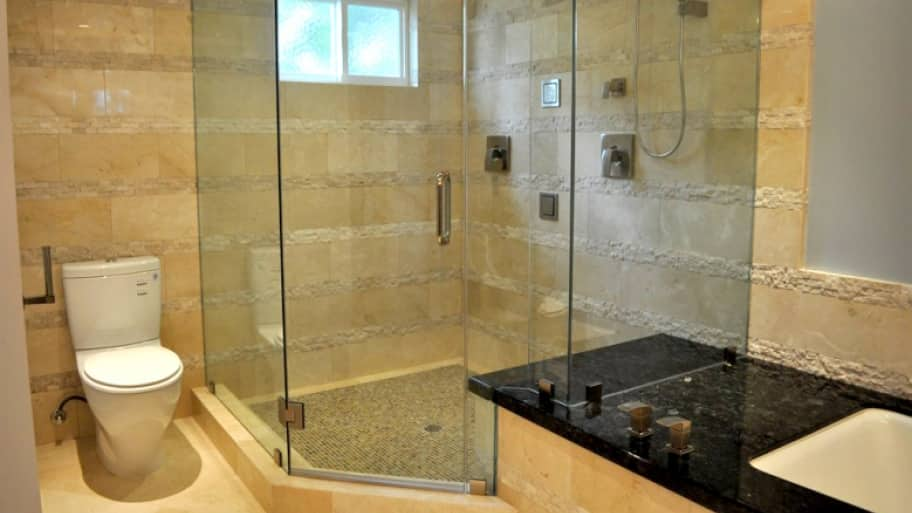 How to clean glass shower doors angies list frameless glass shower door planetlyrics Images