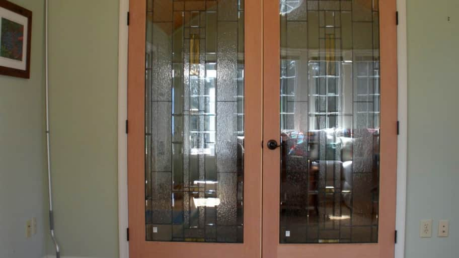 Custom Glass Interior French Doors