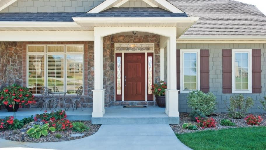 front doorjpeg - Exterior Door
