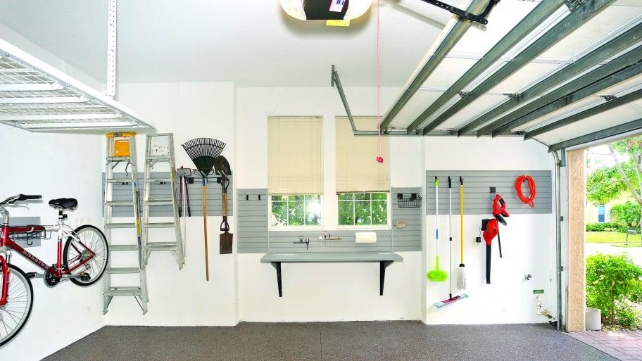 An Organized Garage (Photo By Photo By John Zambito)