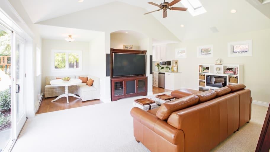 Remodeled Garage Conversion Adds Living Area