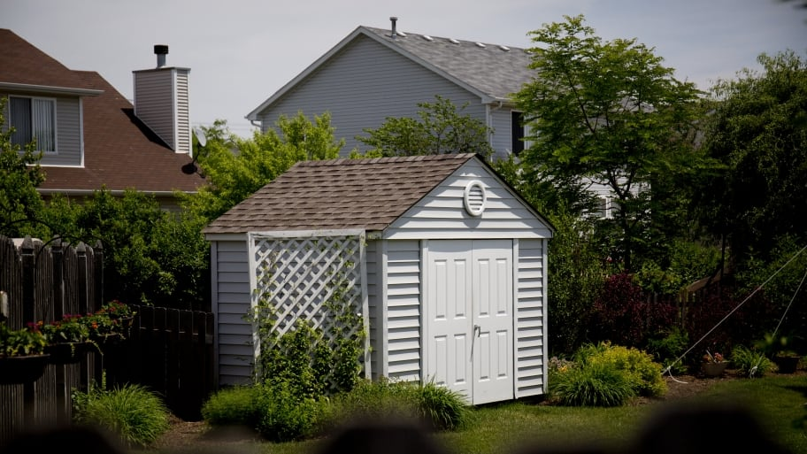 High Quality With The Right Organization, A Garden Shed Can Free Up Space To Store  Tools, Lawn And Garden Equipment And More. (Photo By Eldon Lindsday)