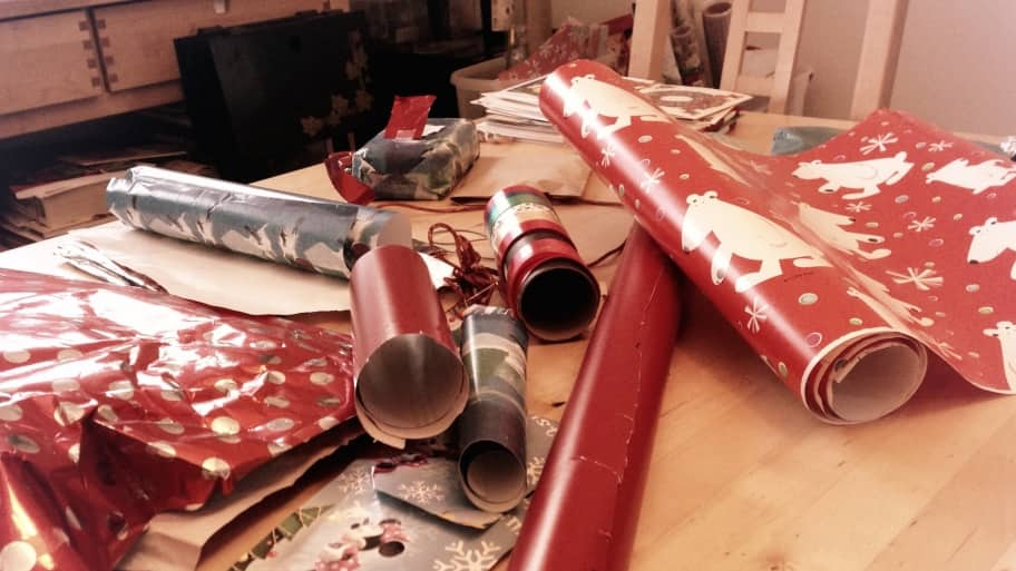 How to Create a Gift-Wrapping Station