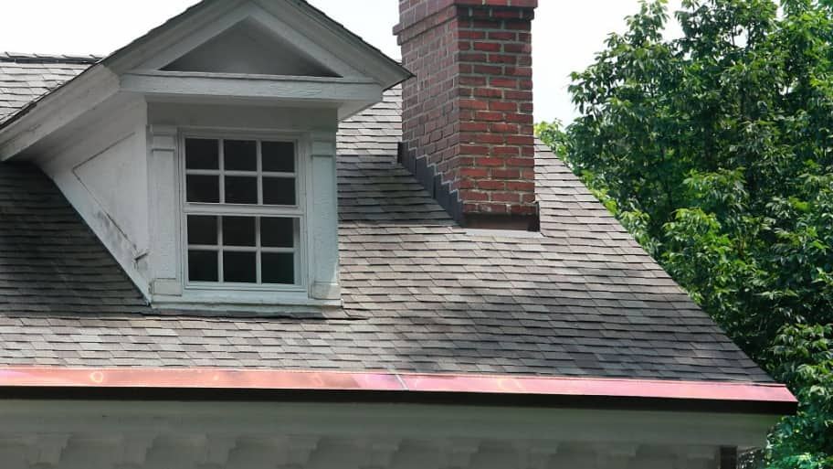 Gutter experts answer maintenance questions angies list house with copper gutters solutioingenieria Images