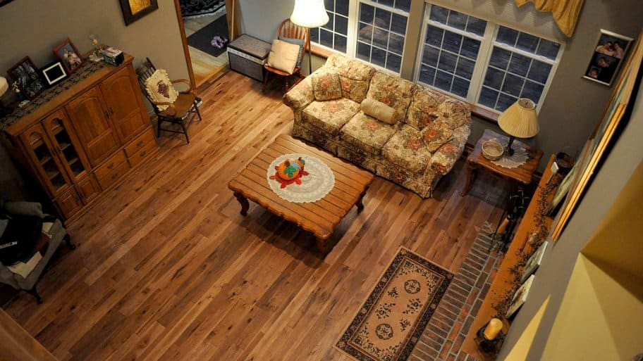 Hardwood Flooring In Living Room