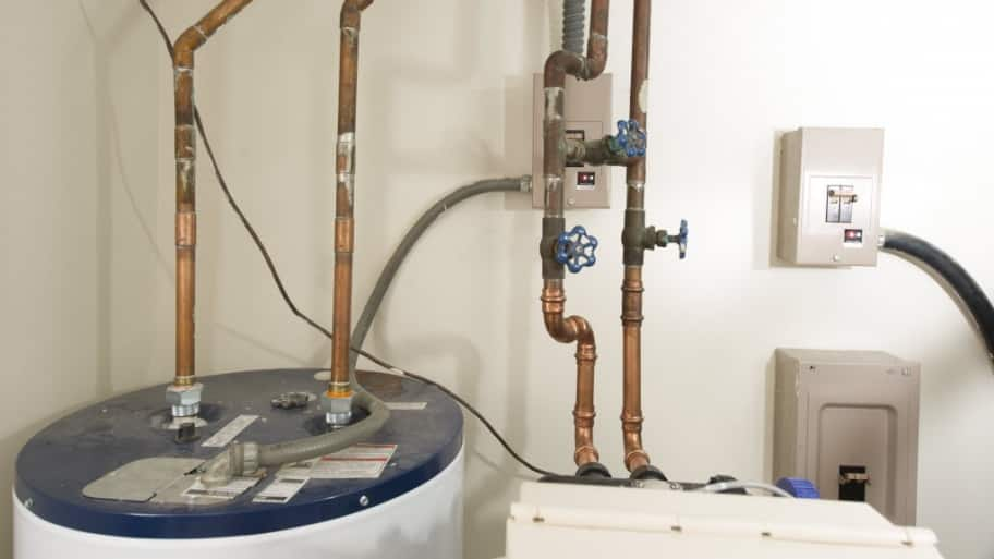 Water softener and water heater