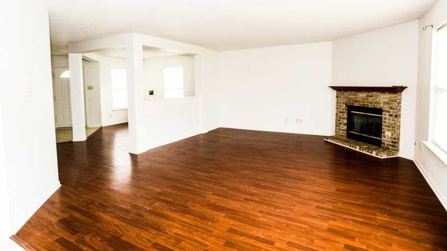 Exceptional Hardwood Flooring In A Room
