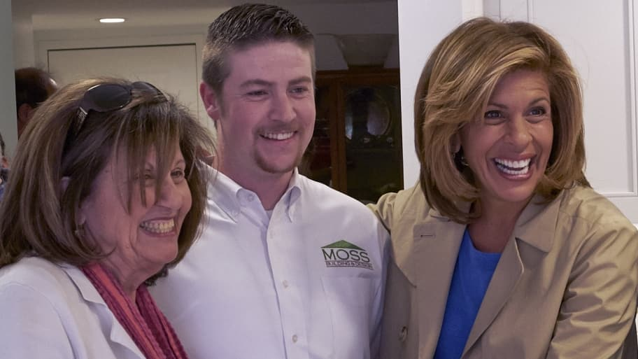Hoda Kotb with mother Sami and Moss Building & Design