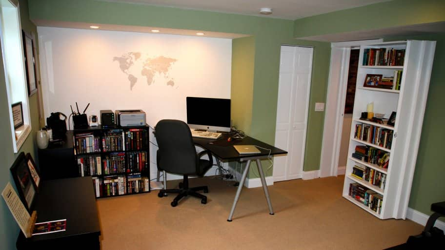 4 Painting Ideas For Your Home Office