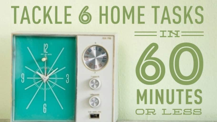 6 Home Tasks Graphic