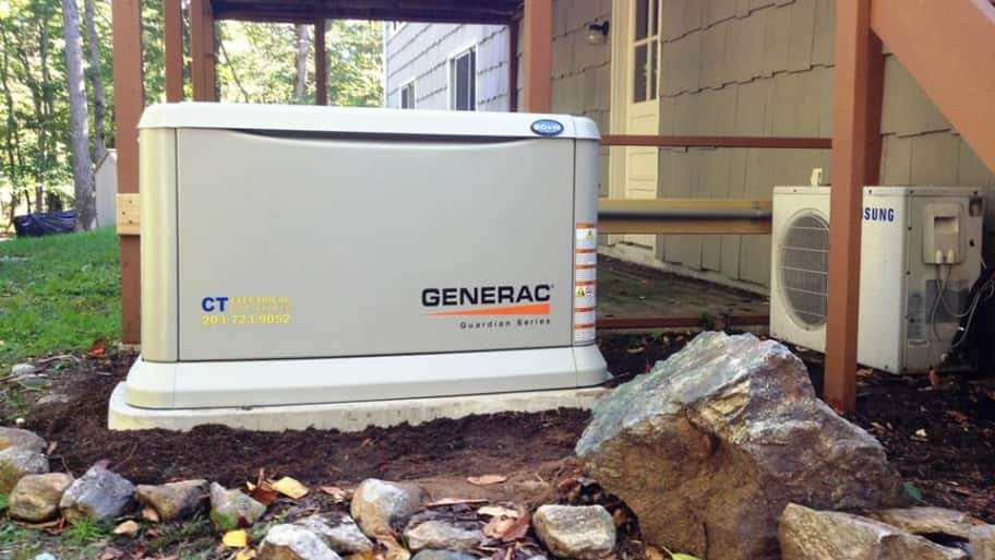 backup power generator (Photo by Brandon Smith)