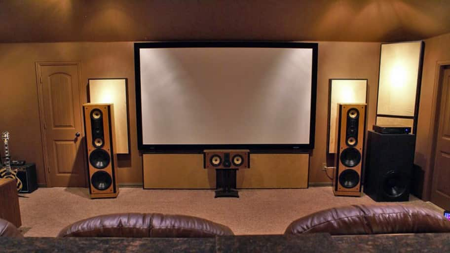 great space planning always takes center stage for an interior designer creating a home theater area photo courtesy of angies list member steve w of - Home Theater Stage Design