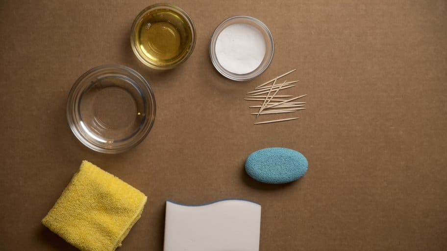 You need some odd tools to clean the oddest items around the house, including toothpicks, pumice stones and Magic Erasers.