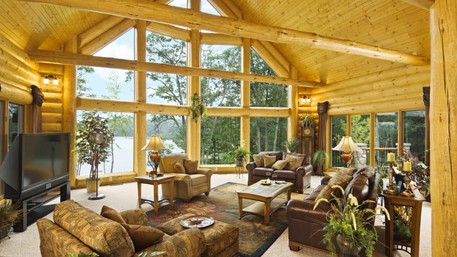 indiana log cabin