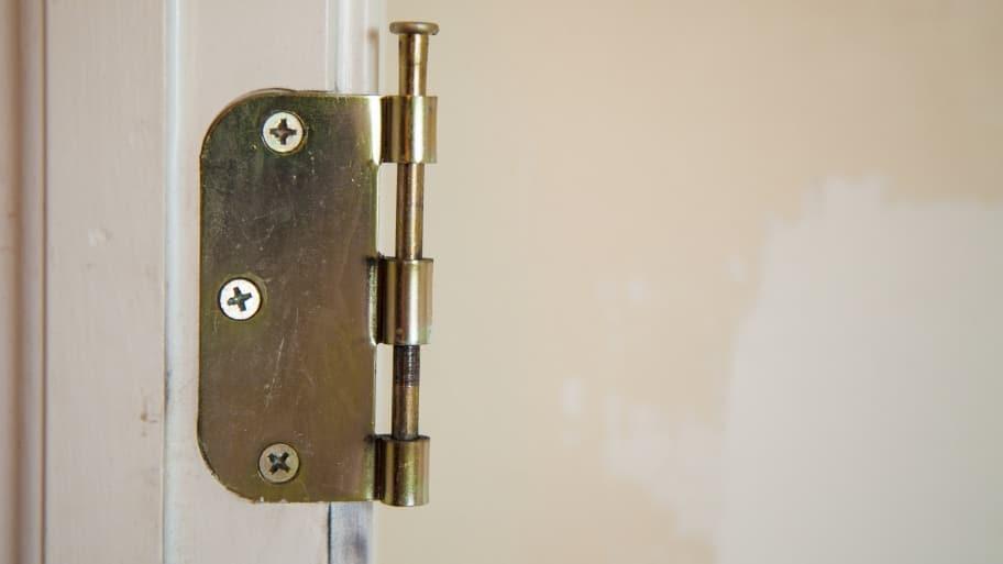 interior door hinge & DIY: 3 Simple Repairs for Stuck Interior Doors | Angie\u0027s List