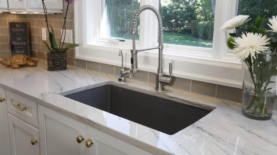 Be Wary Of What You Drop Down The Kitchen Sink. Certain Foods Can Clog The Garbage  Disposal And Drain. (Photo Courtesy Of Dover Home Remodelers)