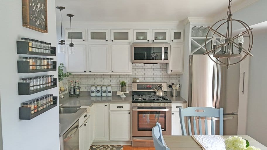 Beau Customized White Kitchen Cabinets
