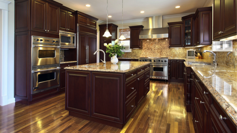 Dark Stained Kitchen Cabinets how to spring clean your kitchen | angie's list