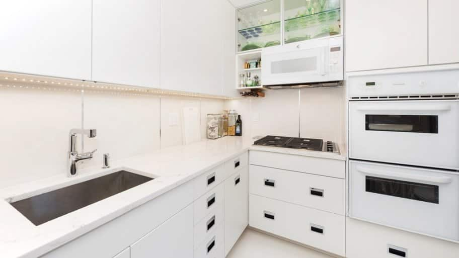 White Kitchen Cabinets After Remodel