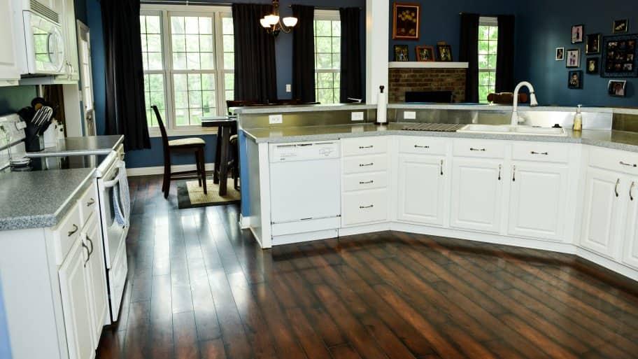 white kitchen cabinets & What are Melamine Kitchen Cabinets? | Angie\u0027s List kurilladesign.com