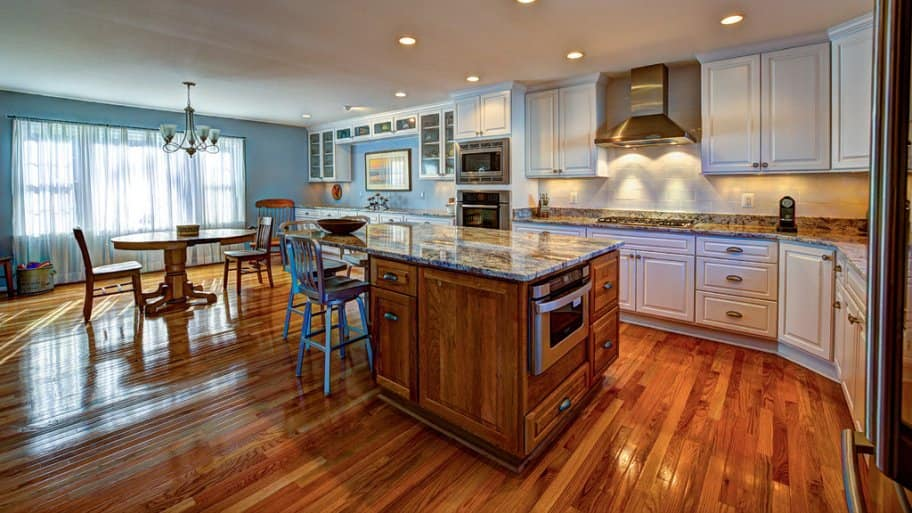 Creating A Kitchen Island: Creating Kitchen Office Space