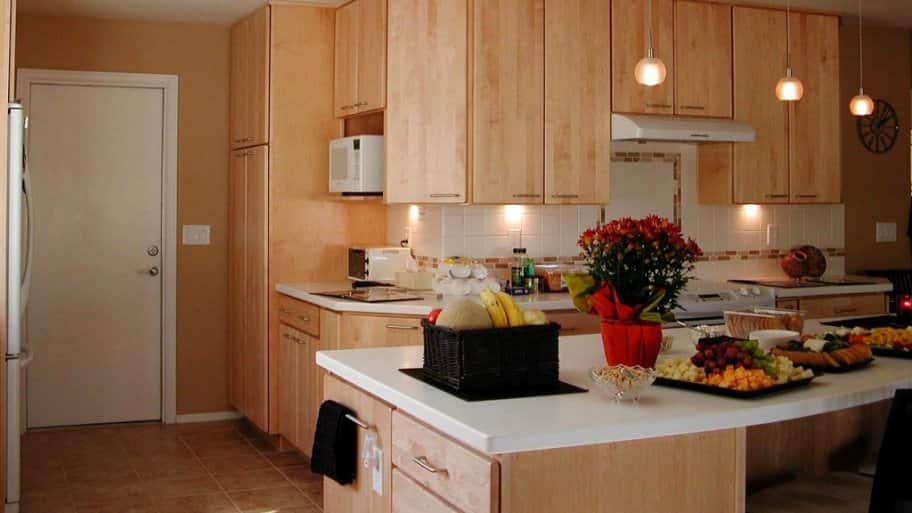 Hanging kitchen light fixtures