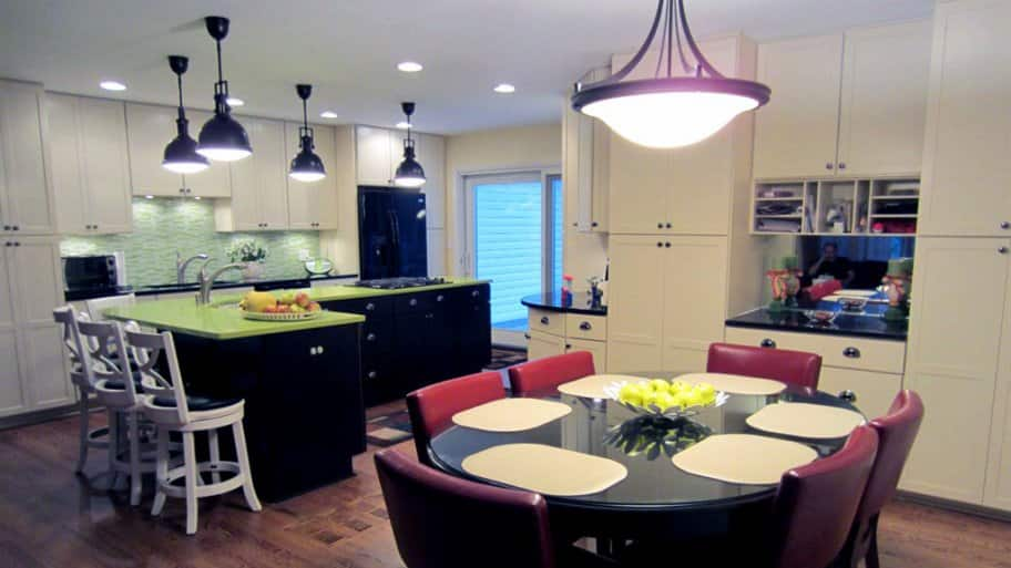 Kitchen table light fixtures and kitchen sink light fixtures