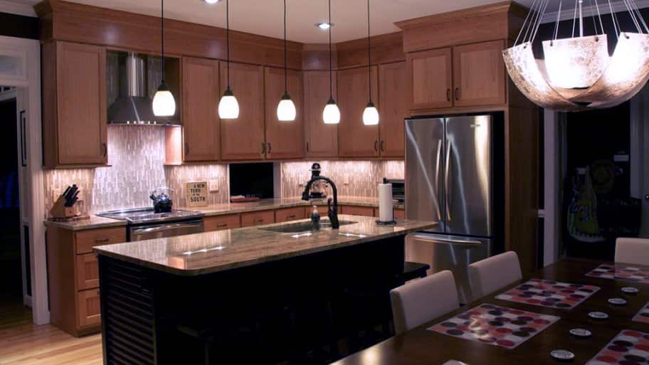 Ideas to Update Light Fixtures On Any Budget. kitchen island lighting & Ideas to Update Light Fixtures On Any Budget | Angieu0027s List