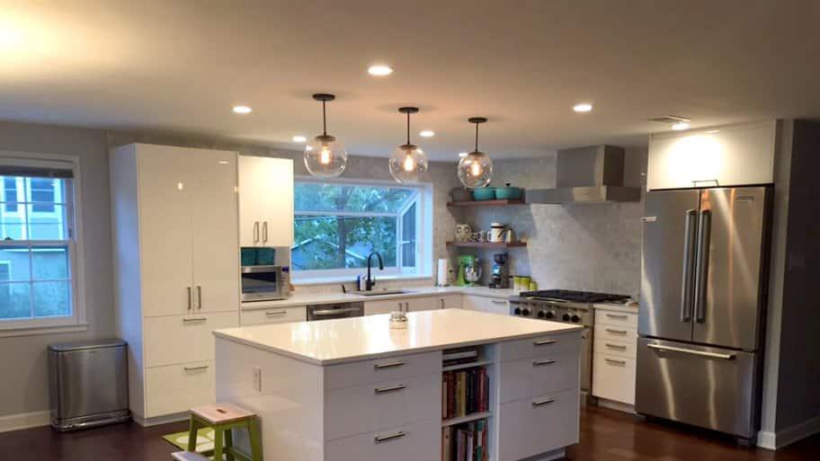 kitchen island lighting - Kitchen Island Chairs