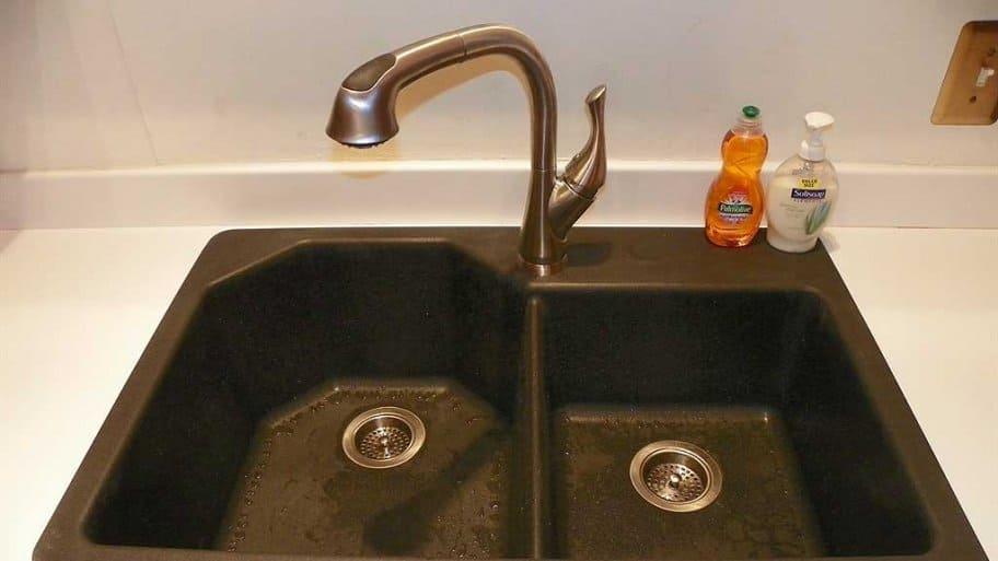 double bowl composite sink