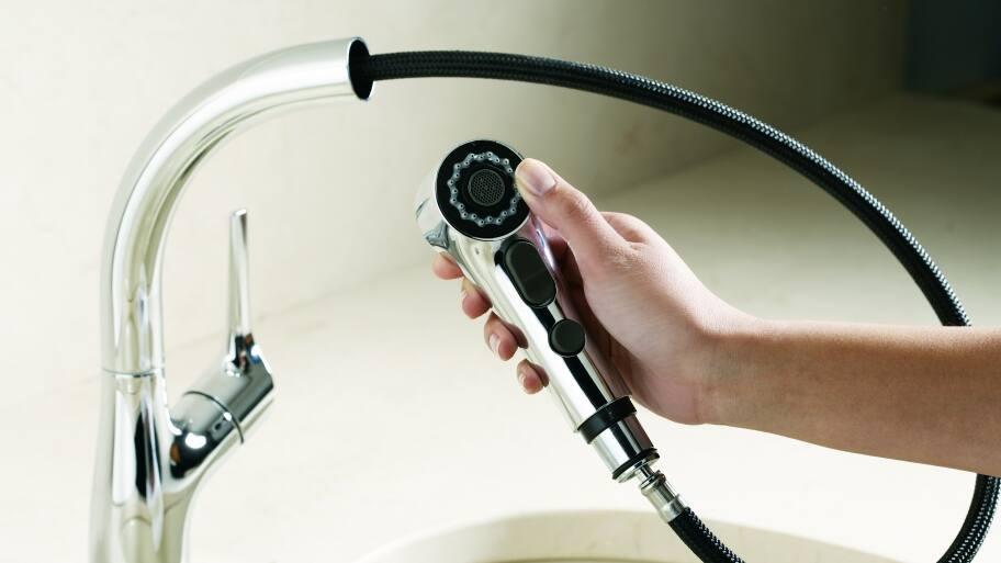Kohler pullout faucet
