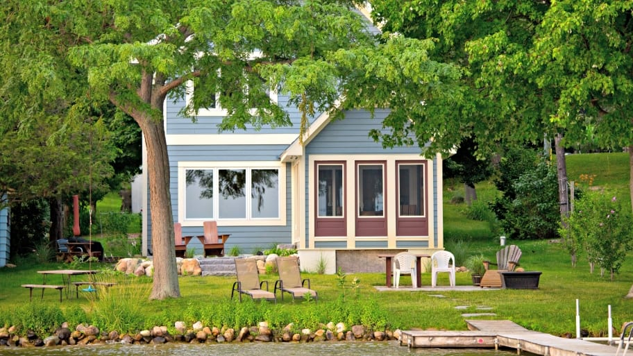 Fabulous What Are The Challenges Of Landscaping A Lakefront Home Angies Largest Home Design Picture Inspirations Pitcheantrous