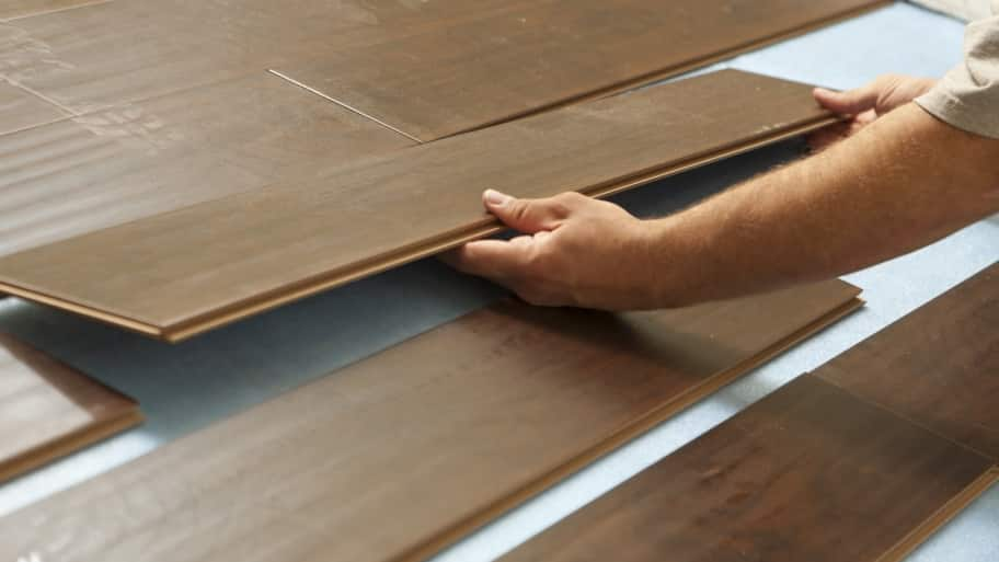 Lifting interlocking laminate flooring planks - How Much Does It Cost To Remove Water-Damaged Laminate Flooring