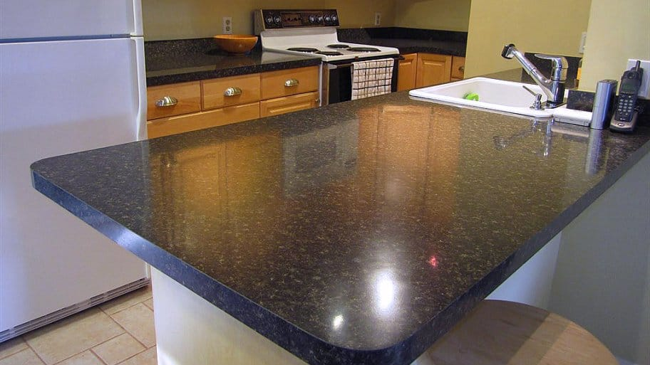 Laminate Countertop In Kitchen