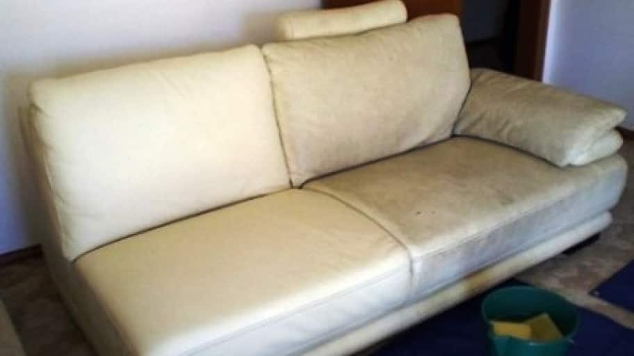 What A Difference Some Cleaning Makes This Sofa Is Halfway Clean Photo Courtesy Of Angie S List Member Hale C Pasadena Calif