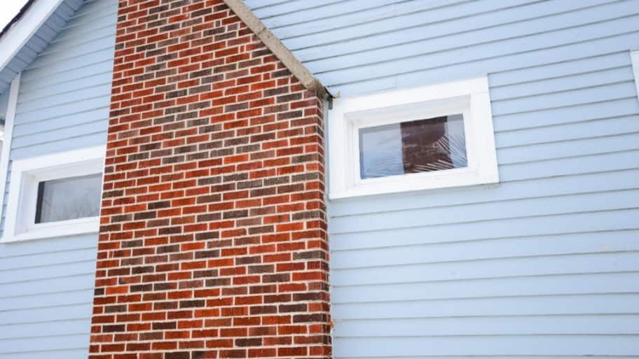 how to clean brick chimney outside