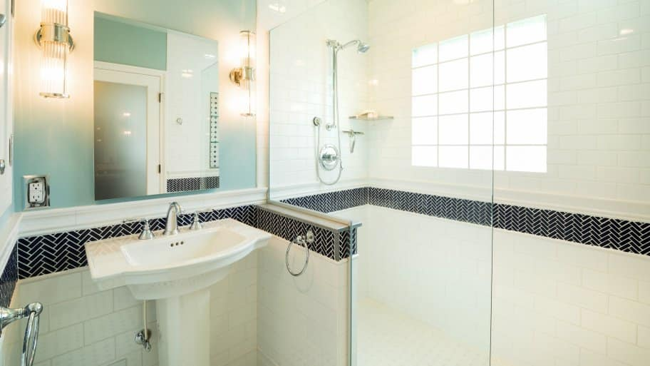 Remodel Transforms 48s Master Bathroom Angie's List Interesting Bath Remodel Houston Style
