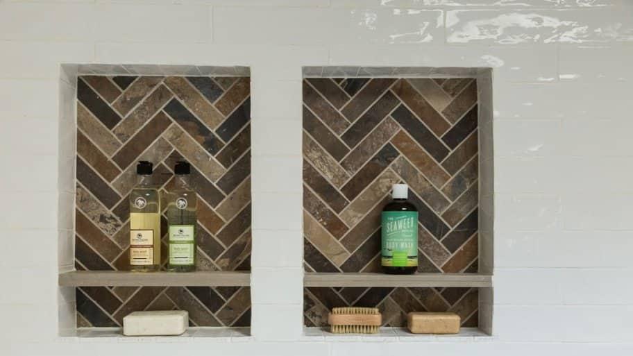 master bathroom shower tile