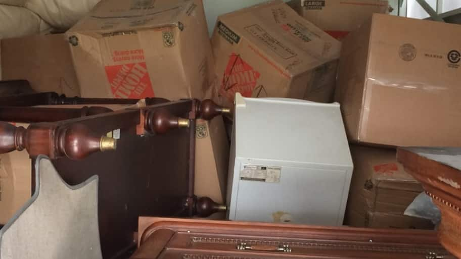 boxes in moving truck no moving insurance