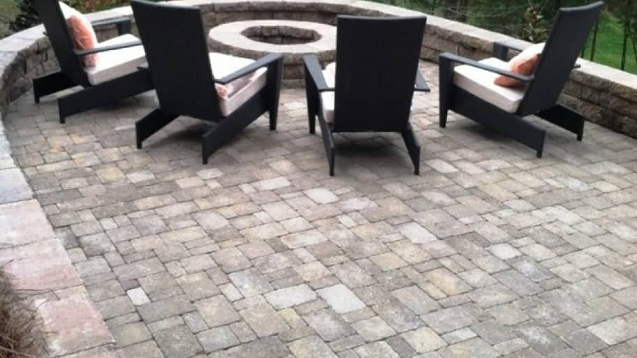 """""""We are now able to enjoy the backyard with friends and family. The kids have somewhere to play, the family can roast marshmallows or just enjoy some music and a cold beverage."""" (Photo courtesy of Angie's List member Tim Kelly of Huntersville, N.C.)"""
