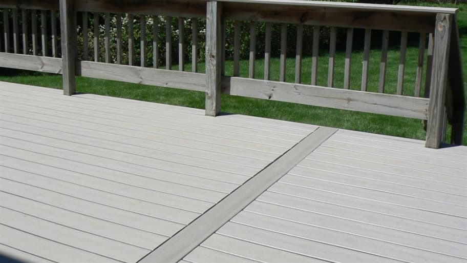 Composite Deck Boards on Top of Wood Deck Saves on Install