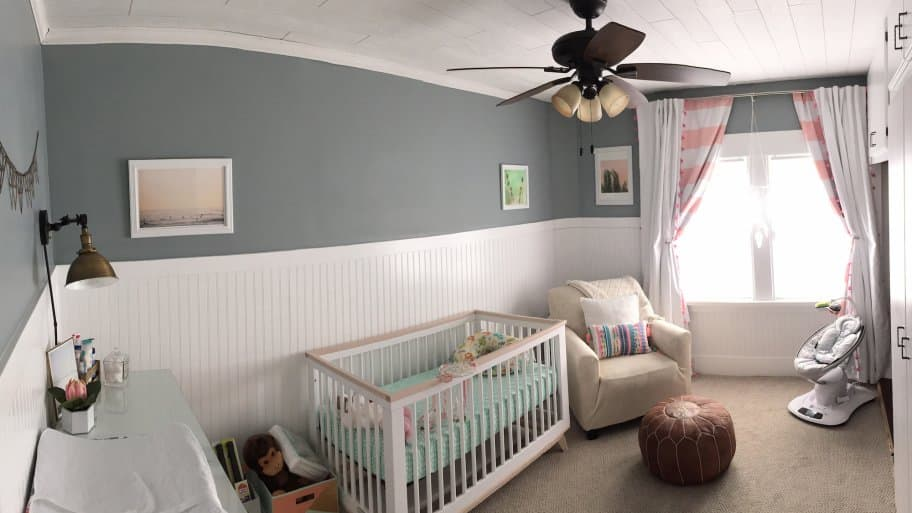 Members Turn Home Office into DIY Nursery | Angie\'s List