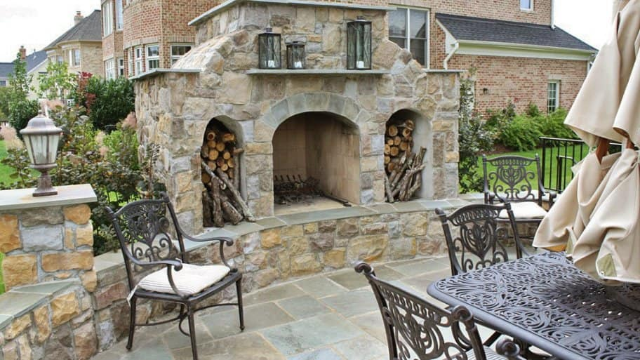 Preparing An Outdoor Fireplace For Fall, Outdoor Fireplace Pictures