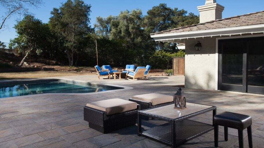 Patio Paver Designs Around Pool