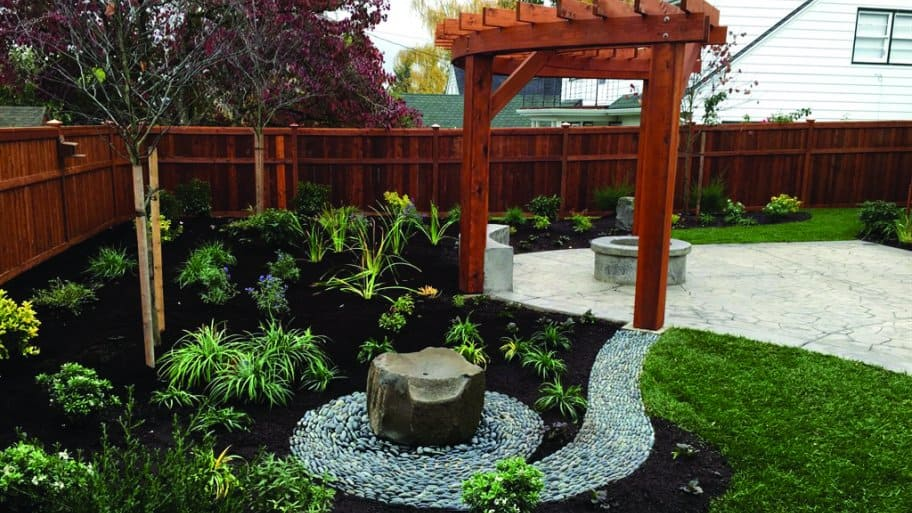 pergola by rock garden - How Much Does It Cost To Build A Pergola? Angie's List